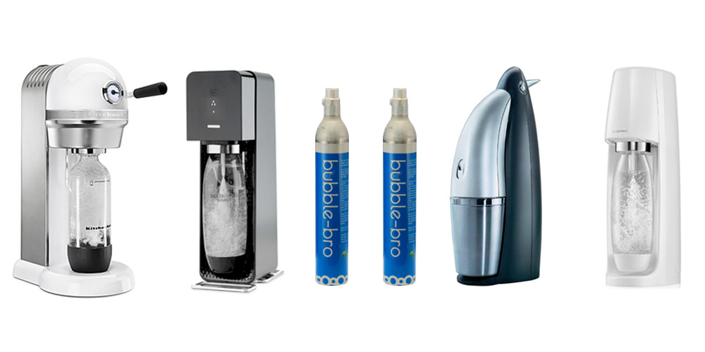An alternative to Sodastream Carbonators