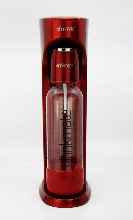 bubble-bro - picture of Red DrinkMate Home soda maker without carbonator