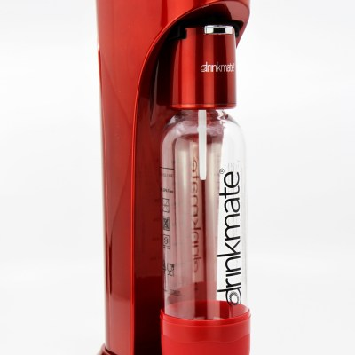 bubble-bro - picture of Red DrinkMate Home soda maker