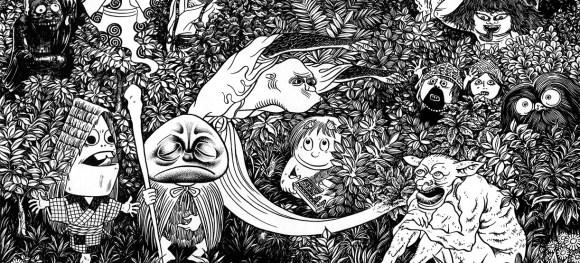 Illustration de l'article NonNonBâ de Shigeru Mizuki