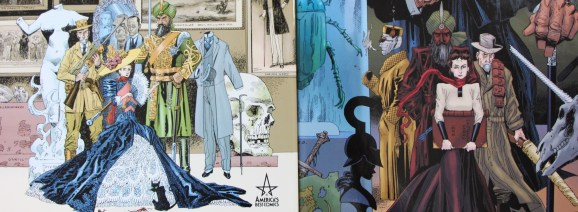 Illustration de l'article Ligue des gentlemen extraordinaires d'Alan Moore et Kevin O'Neill