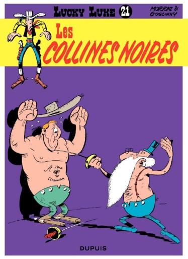 Lucky Luke : Les Collines Noires de Morris & Goscinny, Dupuis