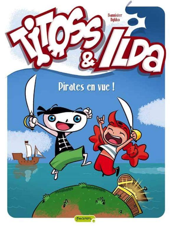 Titoss & Ilda de Bannister et Nikko éditions Dupuis