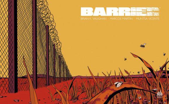Barrier de Brian K. Vaughan & Marcos Martin, Urban Comics