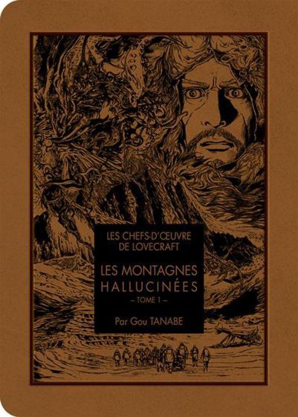 Les chefs-d'œuvre de Lovecraft, Les Montagnes Hallucinées tome 1 et tome 2 de Gou Tanabe, Ki-oon