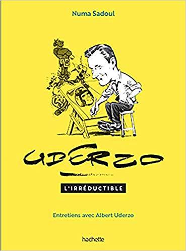 Entretiens avec Albert Uderzo de Numa Sadoul, Hachette