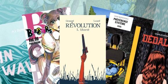 Illustration de l'article Angoulême 2020 : Notre top 5 des albums présentés en Compétition Officielle
