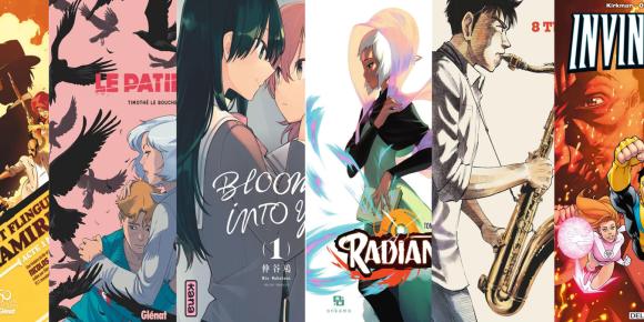 Illustration de l'article Le top de la communauté : les meilleurs albums BD, Comics et Manga 2019