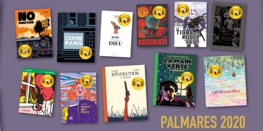 Palmarès Angoulême FIBD 2020 tous les albums lauréats