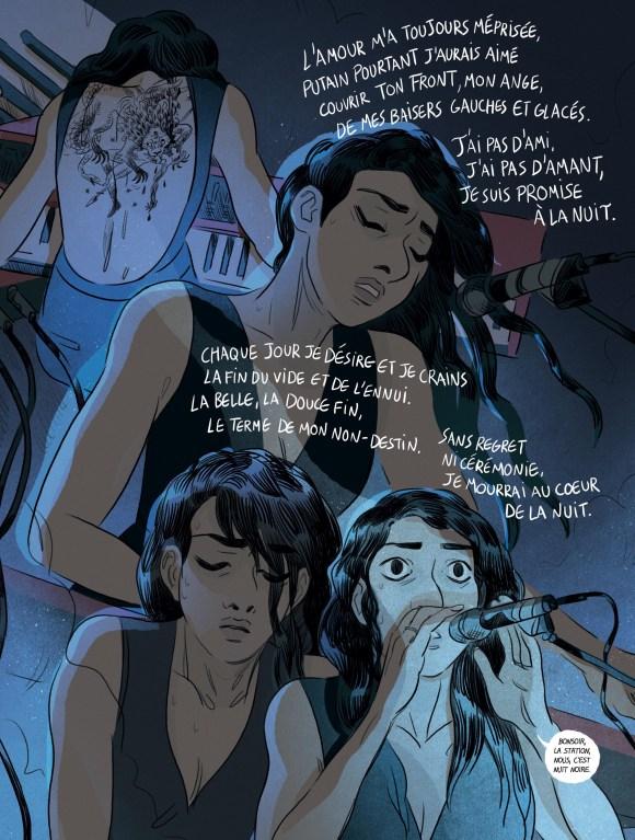 La nuit est mon royaume de Claire Fauvel, Rue de Sèvres
