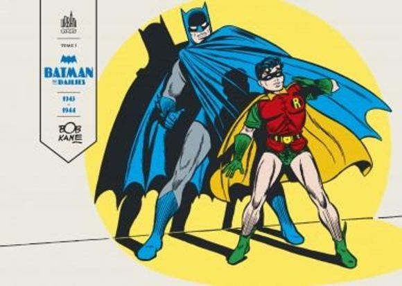 Batman The Dailies de Bob Kane, Bill Finger & collectif, Urban Comics