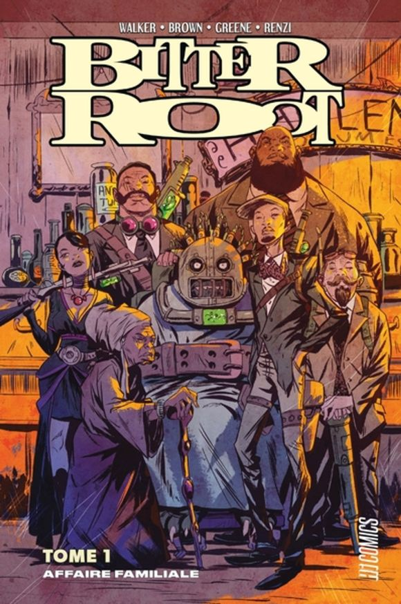 Bitter Root de David F. Walker, Chuck Brown et Sanford Greene, Hi Comics