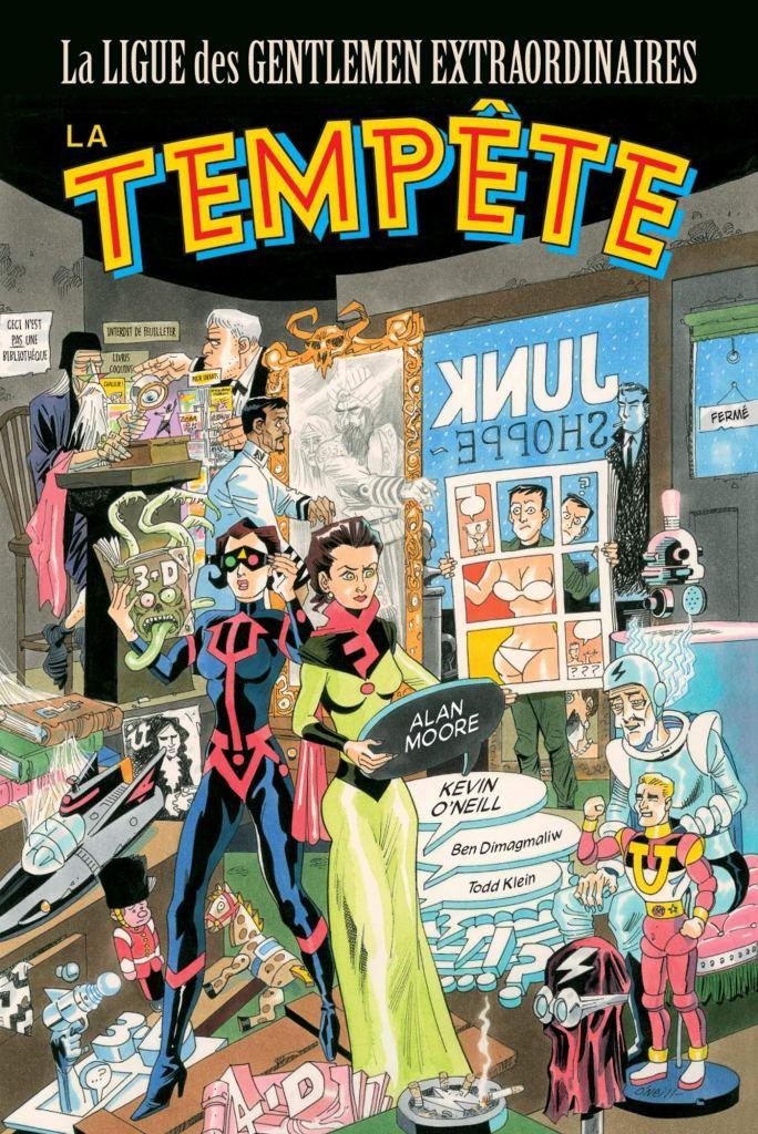 La Ligue des Gentlemen Extraordinaires : La tempête d'Alan Moore & Kevin O'Neill, Panini Comics
