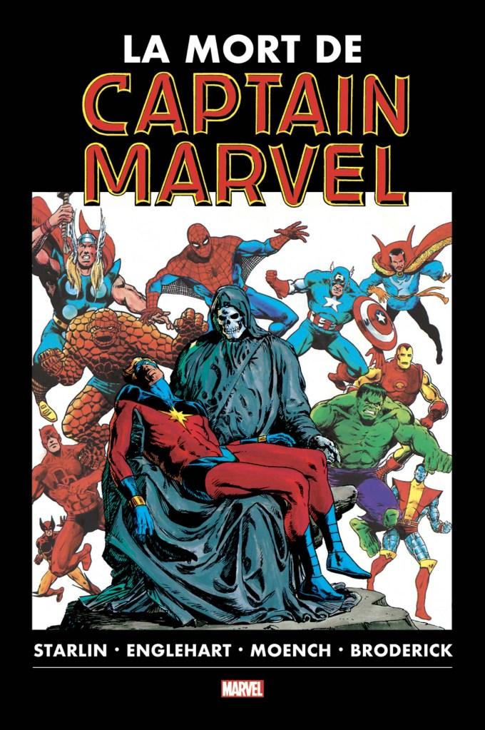 La mort de Captain Marvel de Jim Starlin, Panini Comics