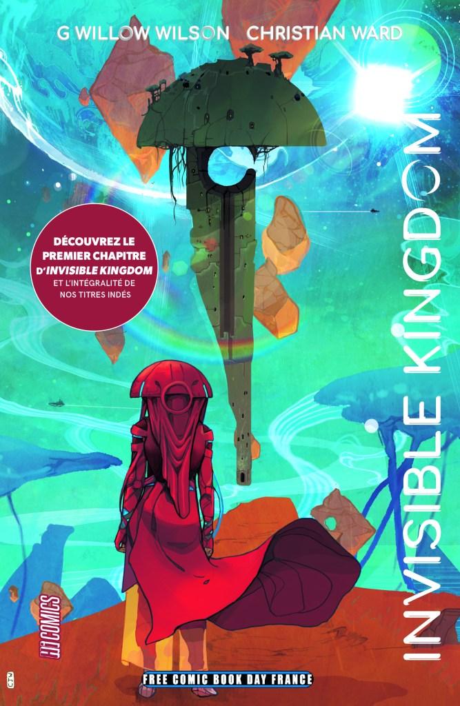Hi Comics: Invisible Kingdom de G. Willow Wilson et Christian Ward