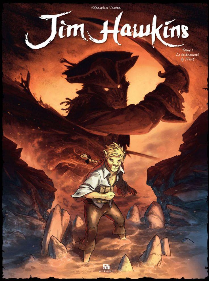 L'Île au trésor de Robert Louis Stevenson, adapté en bande dessinée.