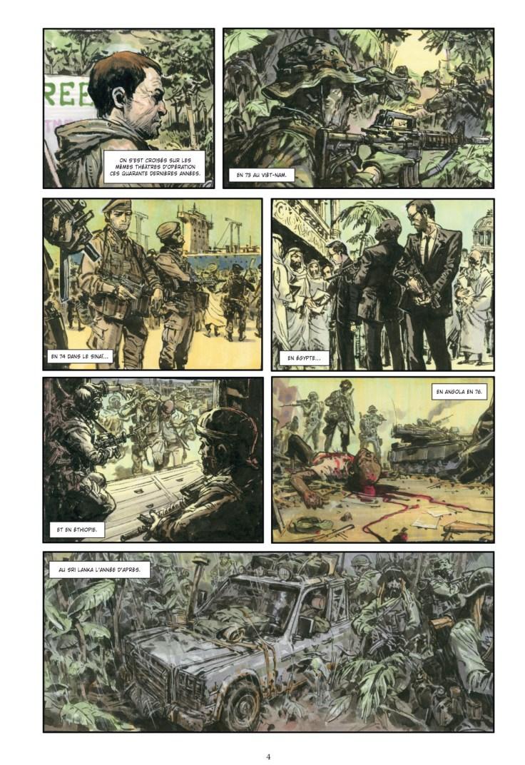 Extrait de Spy Games 1 de Jean-David Morvan et Jung-Gi Kim chez Glénat