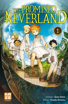 The Promised Neverland T1 de Posuka Demizu & Kaiu Shirai, Kaze