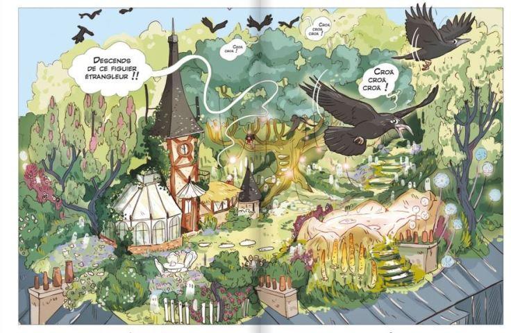 Les Sortilèges de Zora (Tome 1/2): une sorcière au collège, de Judith Peignen (scénario) et Ariane Delrieu (dessin)