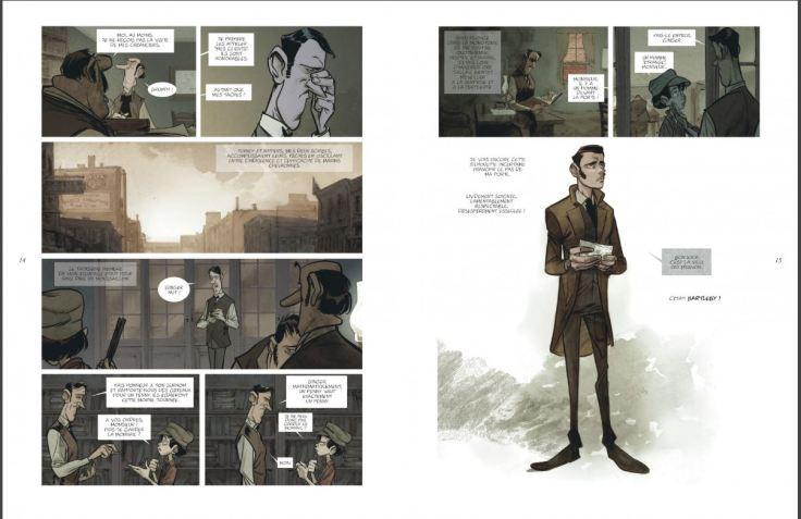Bartleby le scribe, de Jose Luis Munuera (scénario & dessin), éditions Dargaud