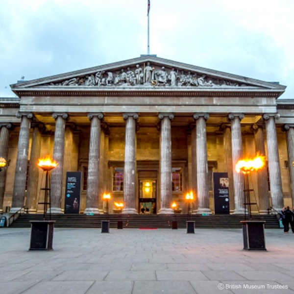 British Museum Bubble Food Approved Caterer Luxury London Venue