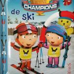 P'tits Champions de ski aux éditions Fleurus