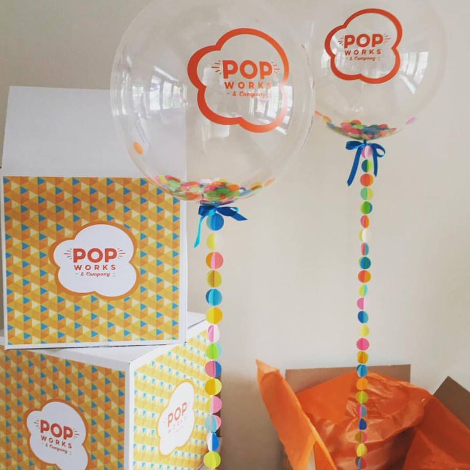 Bubblegum Balloons for Pop Works