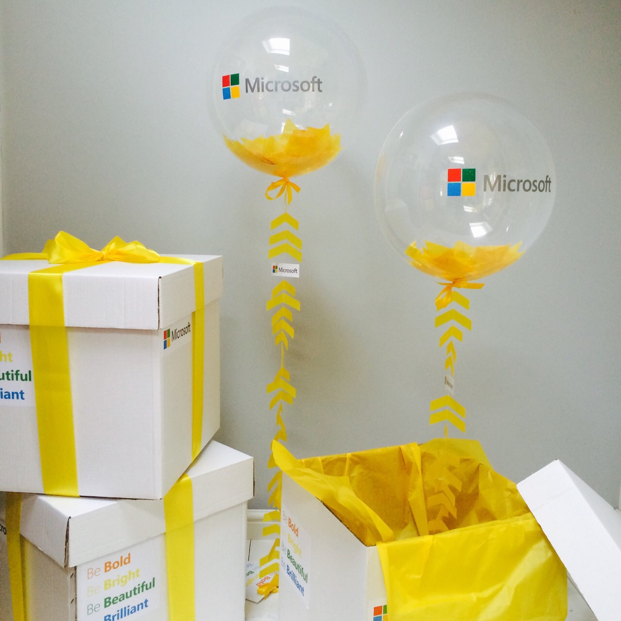 Bubblegum Balloons for Microsoft