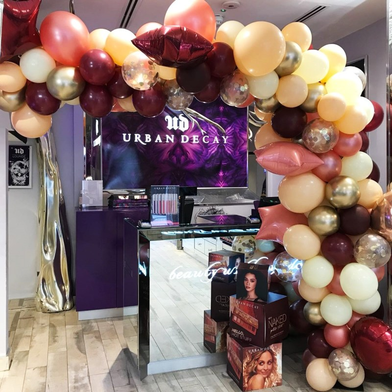 Bubblegum Balloons for Urban Decay