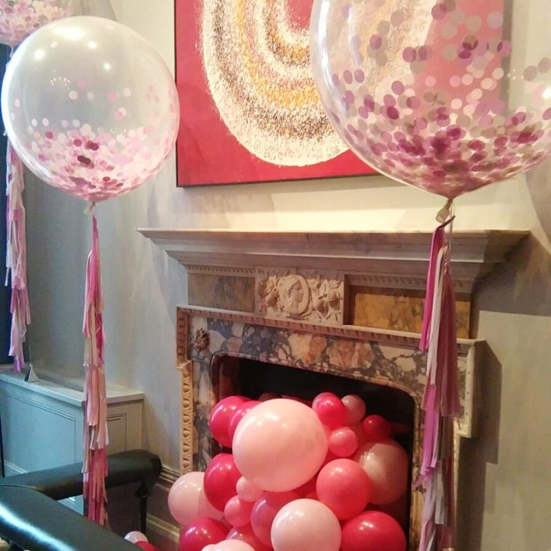 Fireplace Balloons