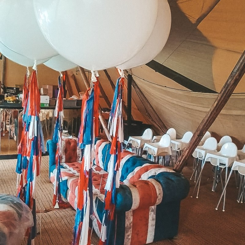 Bubblegum Balloons with Peri Peri Events