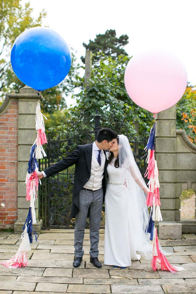 Bubblegum Balloons at Farnham Hall - Anneli Marinovich Photography 1