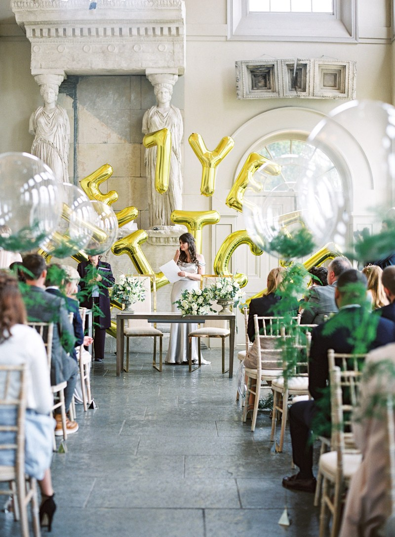 Aynhoe Park wedding photographed on film
