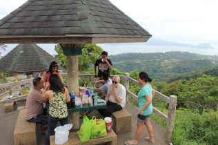 Picnic with the view of Taal Volcano
