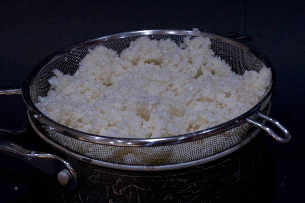 cauliflower rice raw