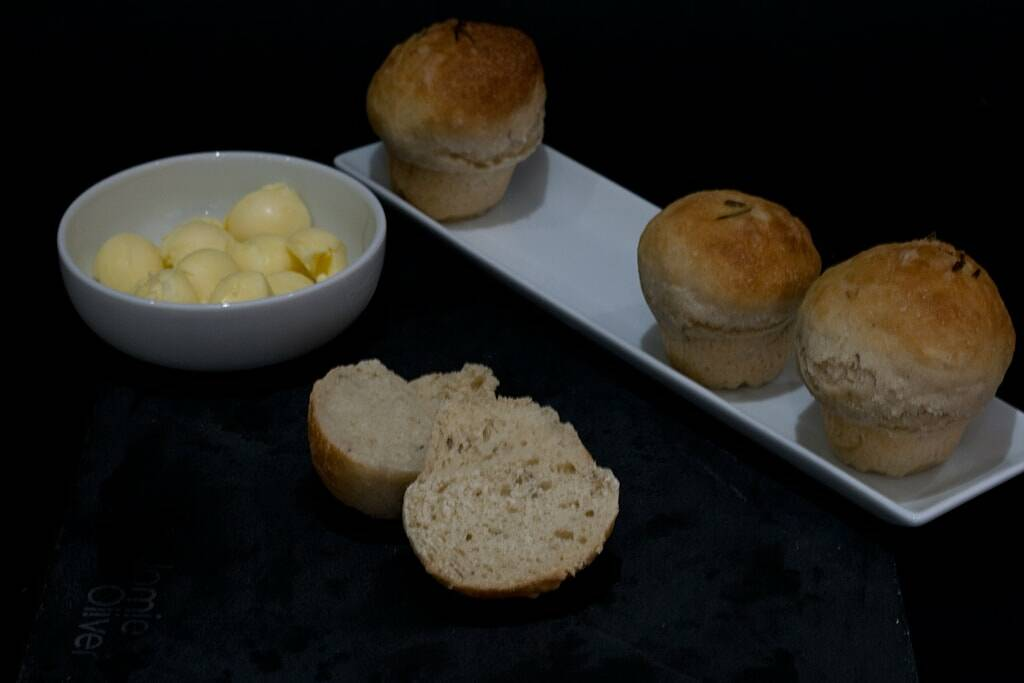 Rosemary Mini Breads Recipe — Dishmaps