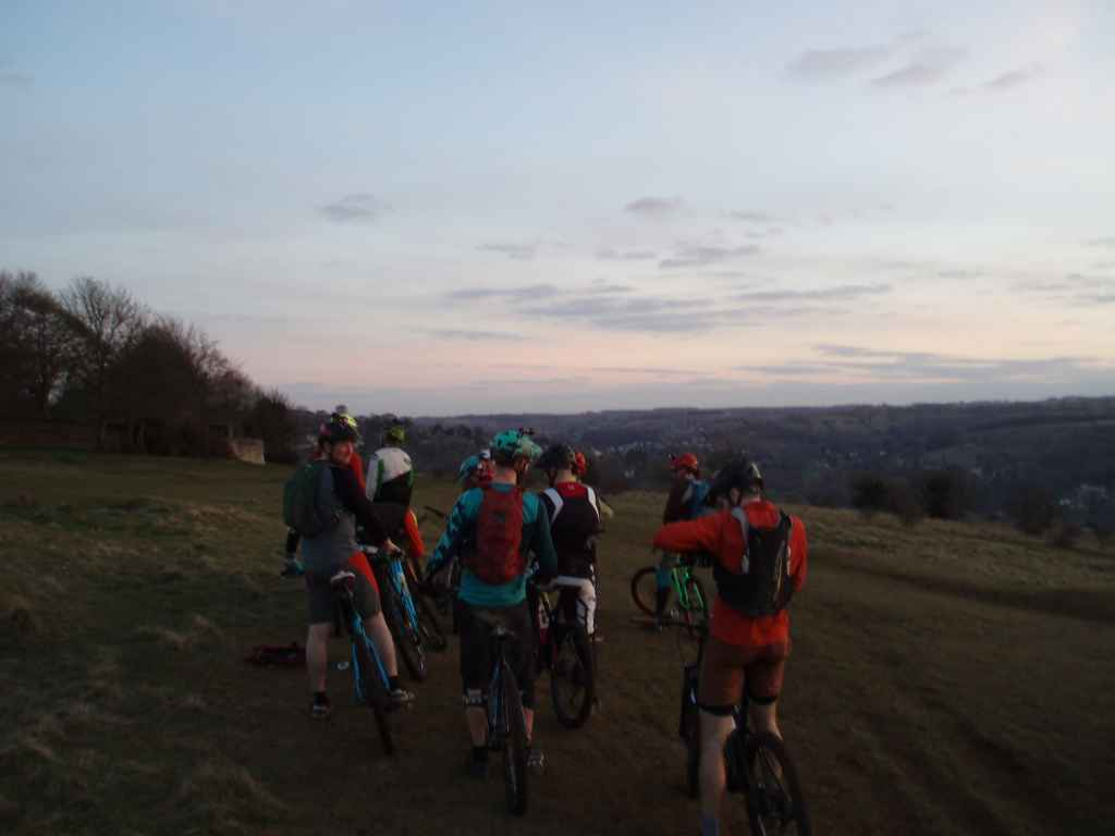 Woodchester mountain bike ride