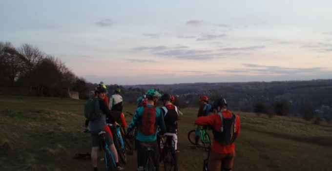 Woodchester Mountain bike route