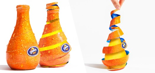 Bubbles Com Orangina packaging