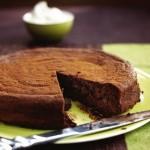 Chocoladecake met room van Liqueur de Paris