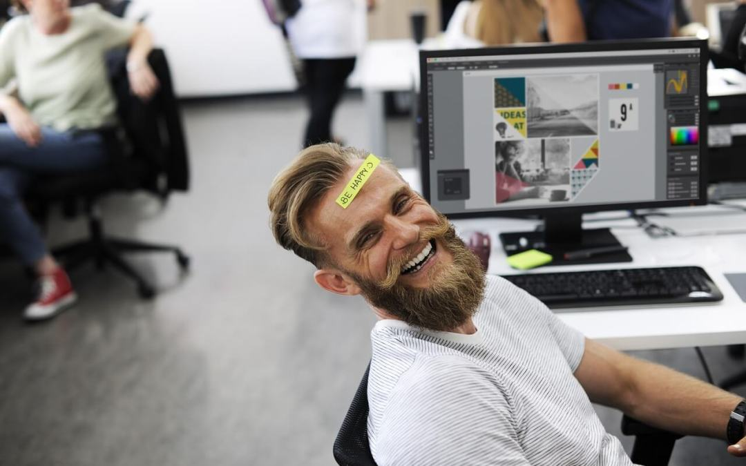 Don't Worry, Be Happy – And More Productive