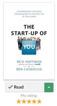 Startupof you