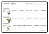 Anagram Quizzes