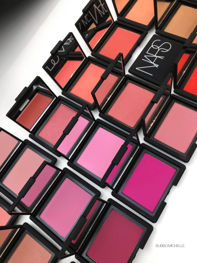 Nars Savage Blush : savage, blush, Blush, Collection, Complete, Swatches, Bubbly, Michelle