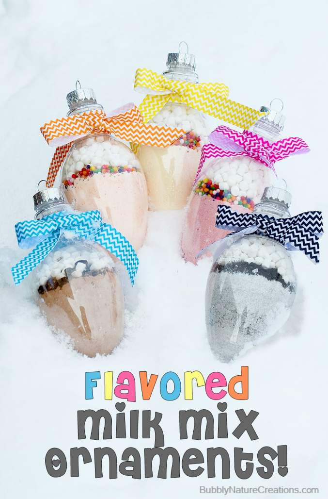 Flavored Milk Mix Ornaments
