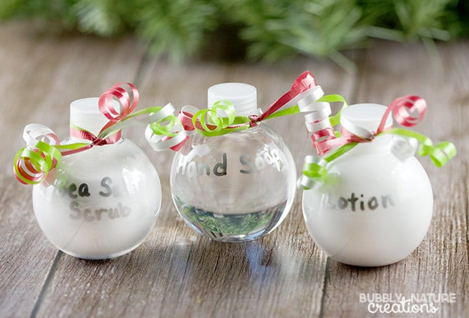 DIY Bath and Body Ornaments!