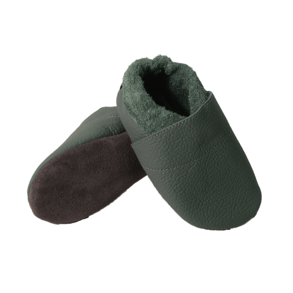 forest plain baby leather shoe soles