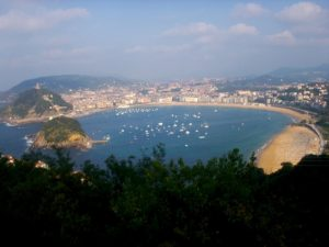 Basqueing in the Glow of Two Basque Cities