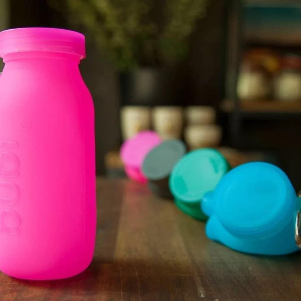 bubi bottle, water bottles, bubi water bottles, bubi, silicone water bottle, silicone