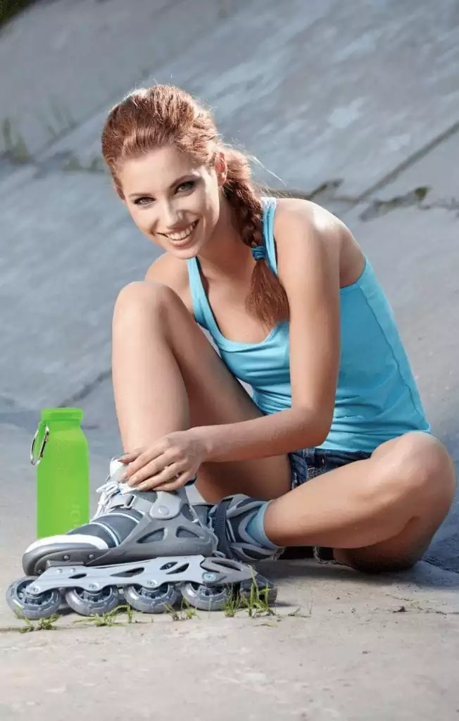 spring fitness, outdoor, roller, water bottle, fitness